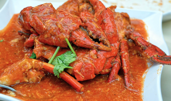 Chilli Crab, piatto tipico di Singapore