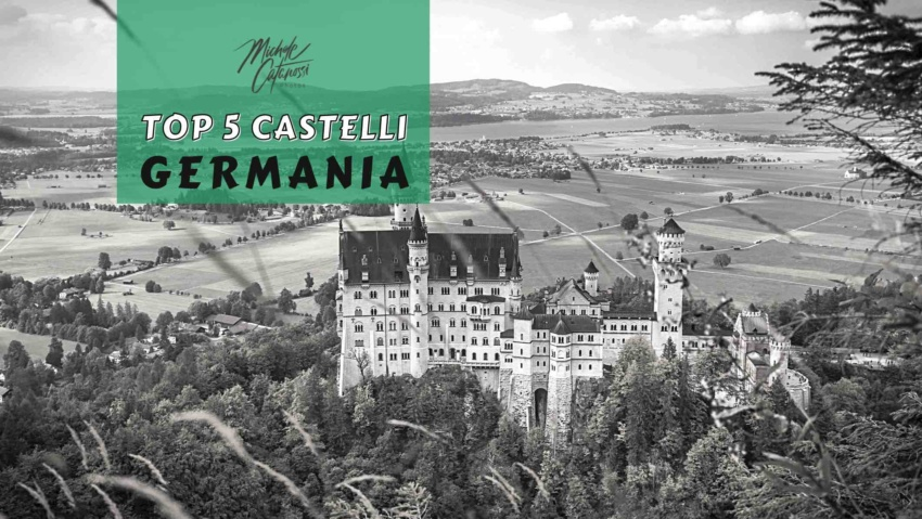 top 5 castelli della Germania