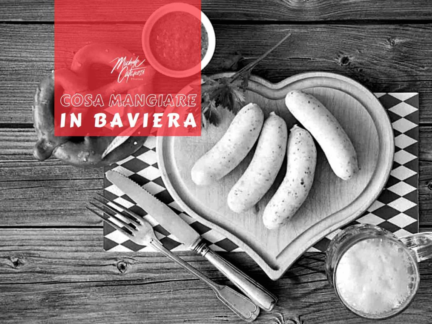 cosa mangiare in Baviera, piatti tipici da provare, cucina bavarese