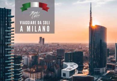 Viaggiare da soli a Milano